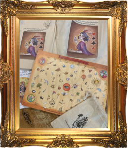 Charm Board with booklet